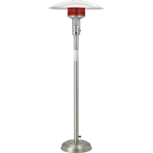 Sunglo 50000 BTU Natural Gas Patio Heater - Stainless Steel - A242 SS