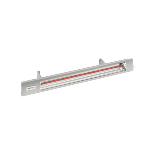 Infratech Slimline Series 29 1/2-Inch 1600W Single Element Electric Infrared Patio Heater - 240V - Silver - SL1624SV