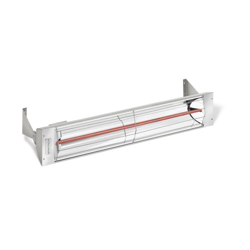 Infratech W-Series 39-Inch 2500W Single Element Electric Infrared Patio Heater - 240V - Stainless Steel - W2524SS