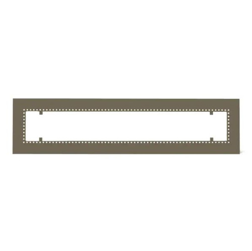 Infratech W30 Flush Mount Frame For 61 1/4-Inch Heaters - Bronze - 18 2305BR