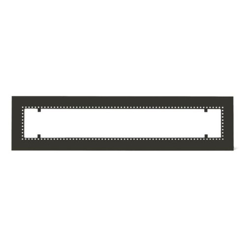 Infratech W30 Flush Mount Frame For 61 1/4-Inch Heaters - Black - 18 2305BL