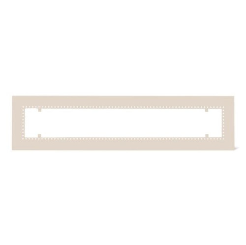 Infratech W30 Flush Mount Frame For 61 1/4-Inch Heaters - Almond - 18 2305AL