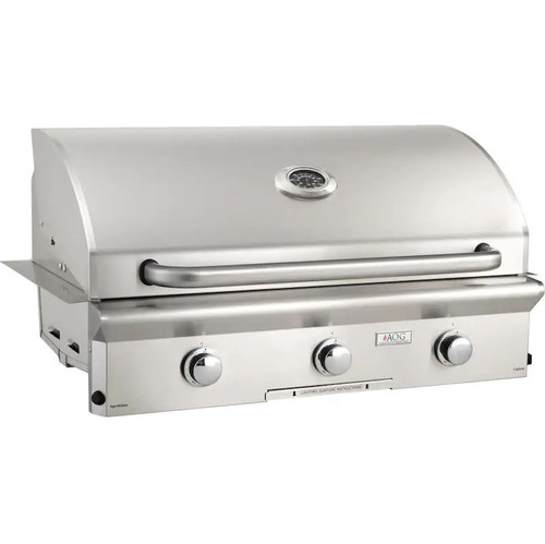 American Outdoor Grill L-Series 36-Inch 3-Burner Built-In Natural Gas Grill - 36NBL-00SP