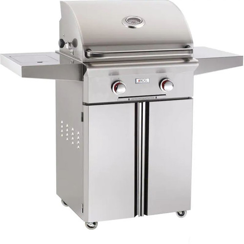 American Outdoor Grill T-Series 24-Inch 2-Burner Propane Gas Grill - 24PCT-00SP