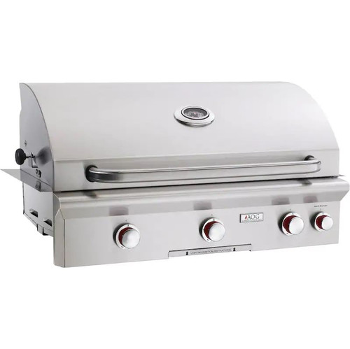 American Outdoor Grill T-Series 36-Inch 3-Burner Built-In Propane Gas Grill With Rotisserie - 36PBT