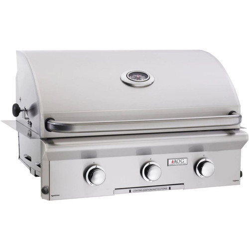 American Outdoor Grill L-Series 30-Inch 3-Burner Built-In Propane Gas Grill - 30PBL-00SP