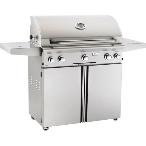 American Outdoor Grill L-Series 36-Inch 3-Burner Natural Gas Grill W/ Rotisserie & Single Side Burner - 36NCL