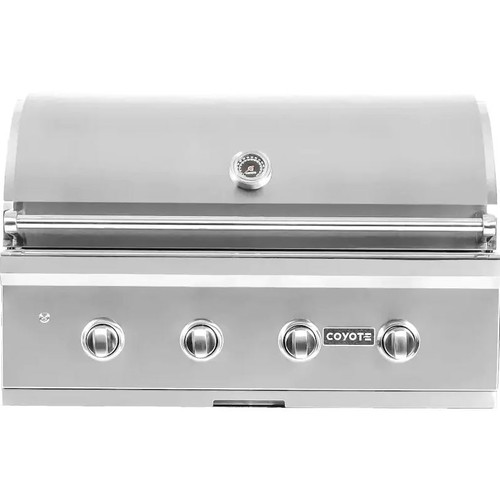 Coyote C-Series 36-Inch 4-Burner Built-In Natural Gas Grill - C2C36NG