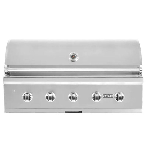 Coyote C-Series 42-Inch 5-Burner Built-In Natural Gas Grill - C2C42NG