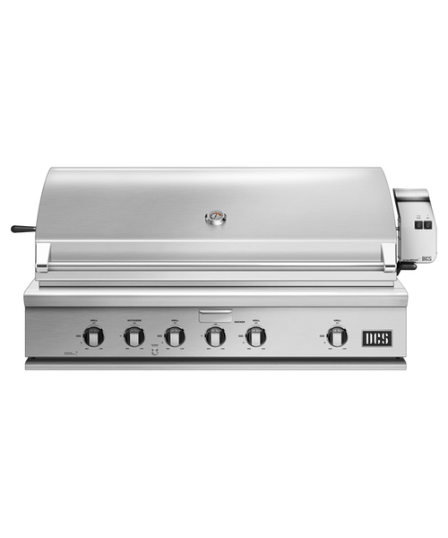 DCS Series 7 Traditional 48-Inch Natural Gas Grill With Rotisserie On DCS CAD Cart - BH1-48R-N
