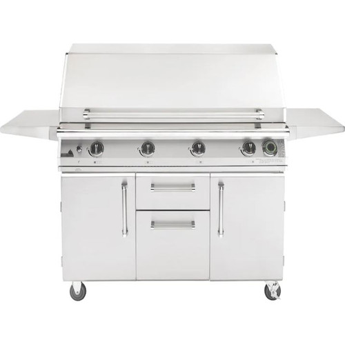 PGS T-Series Commercial 51-Inch Natural Gas Grill With Timer - S48TNG + S48CART