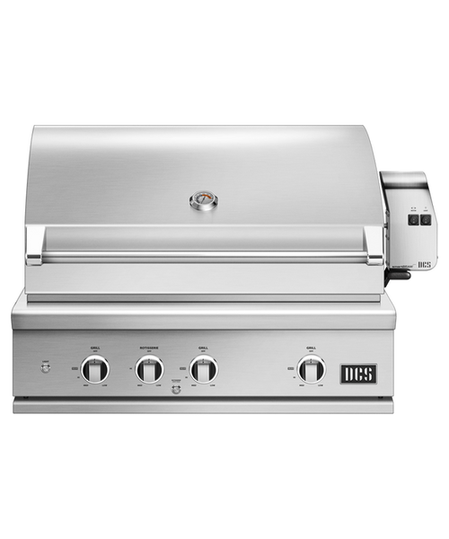 DCS Series 9 Evolution 36-Inch Propane Gas Grill With Rotisserie W/ Cart & Grill Cover - BE1-36RC-L