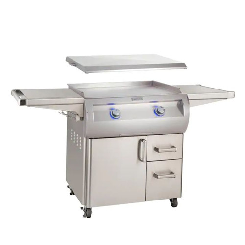 Fire Magic Echelon Diamond E660S 30-Inch Propane Gas Griddle With Stainless Steel Cover - E660S-0T4P-61