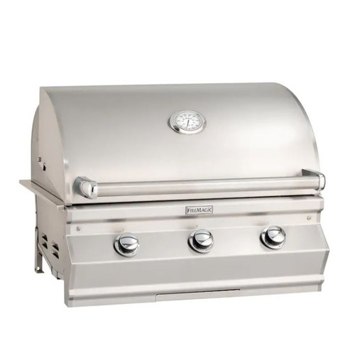 Fire Magic Choice C540I 30-Inch Built-In Natural Gas Grill With Analog Thermometer - C540I-RT1N