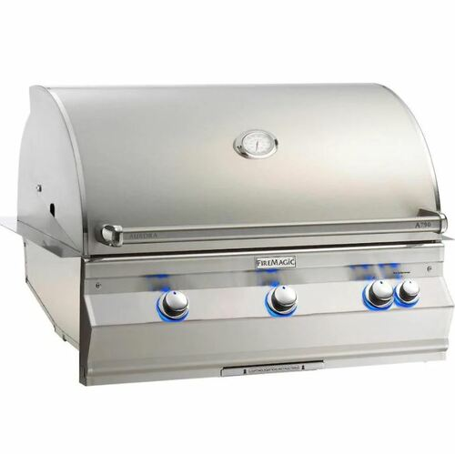 Fire Magic Aurora A790I 36-Inch Built-In Natural Gas Grill With Analog Thermometer - A790I-7EAN