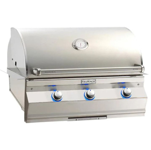 Fire Magic Aurora A540I 30-Inch Built-In Propane Gas Grill With Analog Thermometer - A540I-7EAP