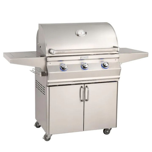 Fire Magic Aurora A540S 30-Inch Natural Gas Grill With Side Burner And Analog Thermometer - A540S-7EAN-62