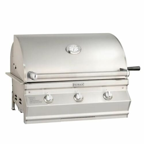 Fire Magic Choice Multi-User Accessible CMA540I 30-Inch Built-In Natural Gas Grill With Analog Thermometer - CMA540I-RT1N
