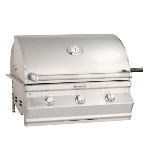 Fire Magic Choice Multi-User Accessible CMA650I 36-Inch Built-In Natural Gas Grill With Analog Thermometer - CMA650I-RT1N
