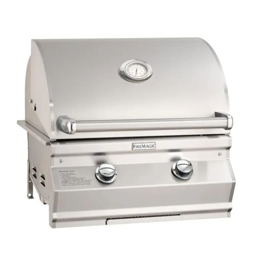 Fire Magic Choice Multi-User CM430I 24-Inch Built-In Natural Gas Grill With Analog Thermometer - CM430I-RT1N