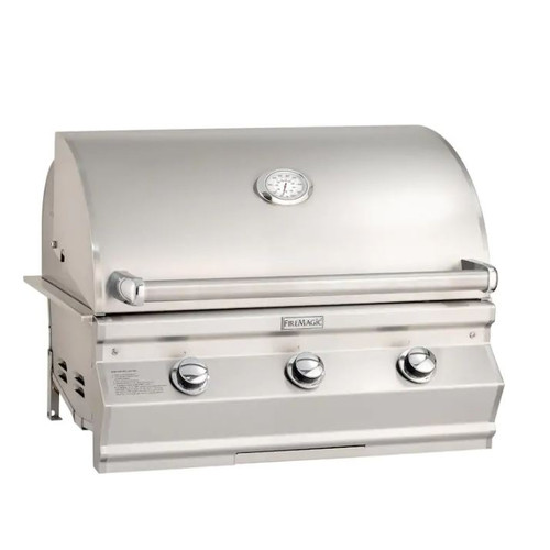 Fire Magic Choice Multi-User CM540I 30-Inch Built-In Natural Gas Grill With Analog Thermometer - CM540I-RT1N