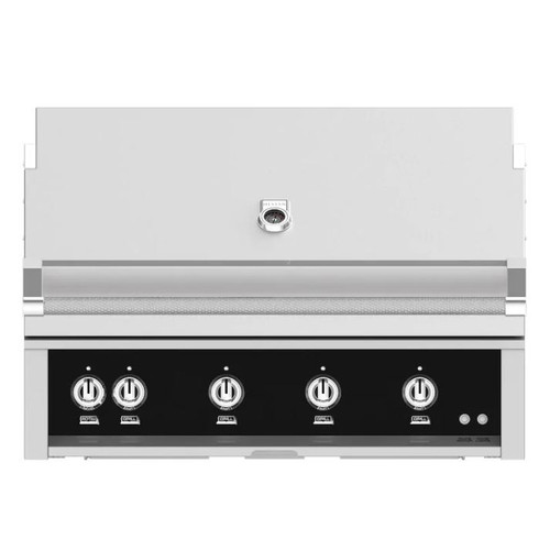 Hestan 42-Inch Built-In Natural Gas Grill W/ Rotisserie - Stealth - GABR42-NG-BK