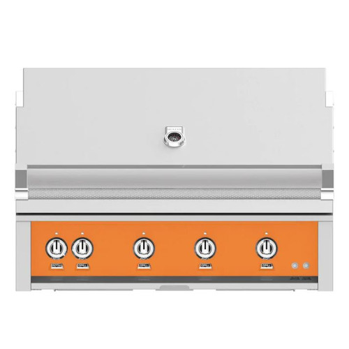 Hestan 42-Inch Built-In Propane Gas Grill W/ Rotisserie - Citra - GABR42-LP-OR