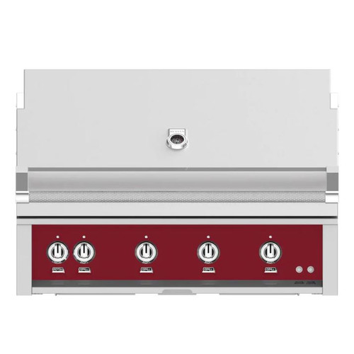 Hestan 42-Inch Built-In Natural Gas Grill W/ Rotisserie - Tin Roof - GABR42-NG-BG