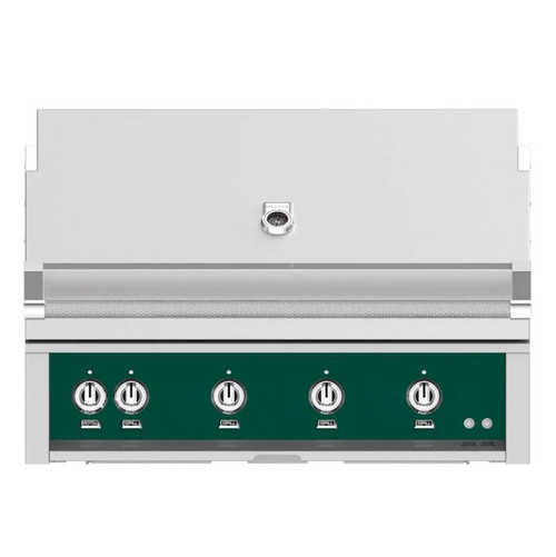 Hestan 42-Inch Built-In Natural Gas Grill W/ Rotisserie - Grove - GABR42-NG-GR