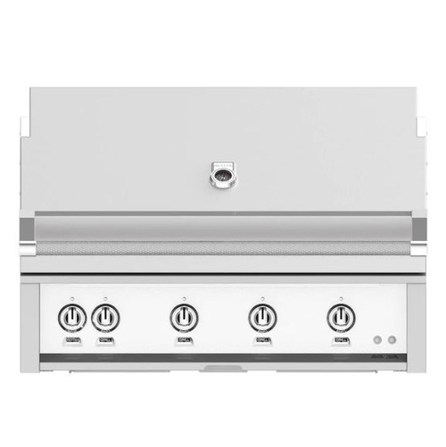 Hestan 42-Inch Built-In Natural Gas Grill W/ Rotisserie - Froth - GABR42-NG-WH