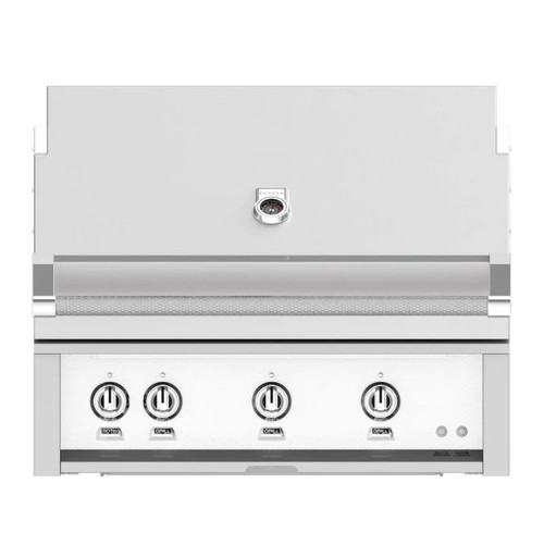 Hestan 36-Inch Built-In Propane Gas Grill W/ Rotisserie - Froth - GABR36-LP-WH