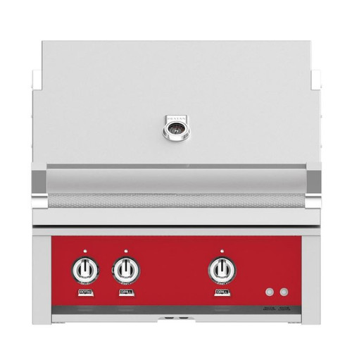 Hestan 30-Inch Built-In Natural Gas Grill W/ All Infrared Burners & Rotisserie - Matador - GSBR30-NG-RD