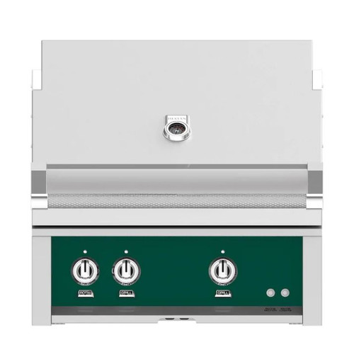 Hestan 30-Inch Built-In Natural Gas Grill W/ All Infrared Burners & Rotisserie - Grove - GSBR30-NG-GR