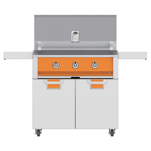 Aspire By Hestan 36-Inch Propane Gas Grill - Citra - EAB36-LP-OR