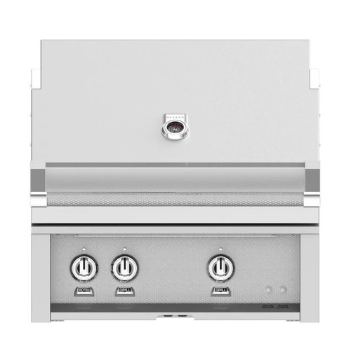 Hestan 30-Inch Built-In Propane Gas Grill W/ All Infrared Burners & Rotisserie - Steeletto - GSBR30-LP-SS