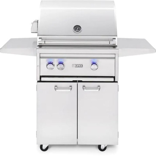 Lynx Professional 27-Inch Propane Gas Grill One Infrared Trident Burner And Rotisserie - L27TRF-LP