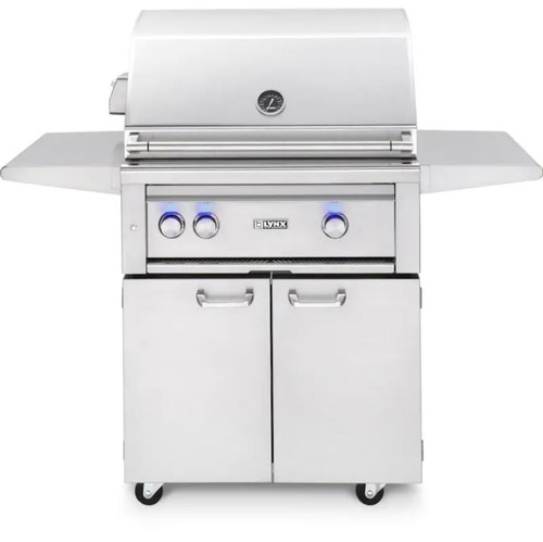 Lynx Professional 30-Inch Natural Gas Grill With One Infrared Trident Burner And Rotisserie - L30TRF-NG