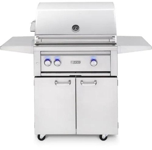 Lynx Professional 30-Inch All Infrared Trident Propane Gas Grill With Rotisserie - L30ATRF-LP