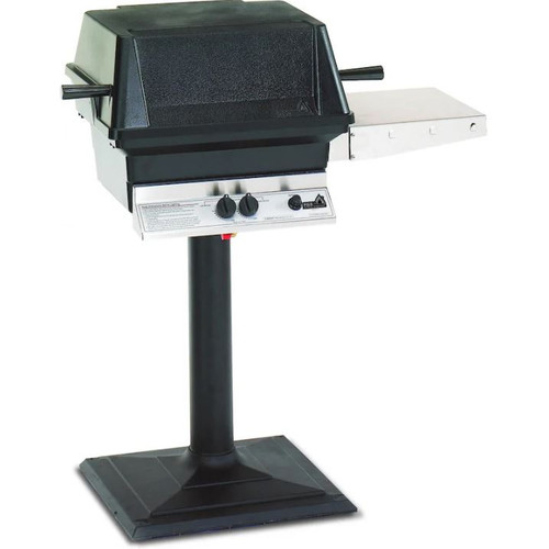 PGS A40 Cast Aluminum Natural Gas Grill On Bolt-Down Patio Post