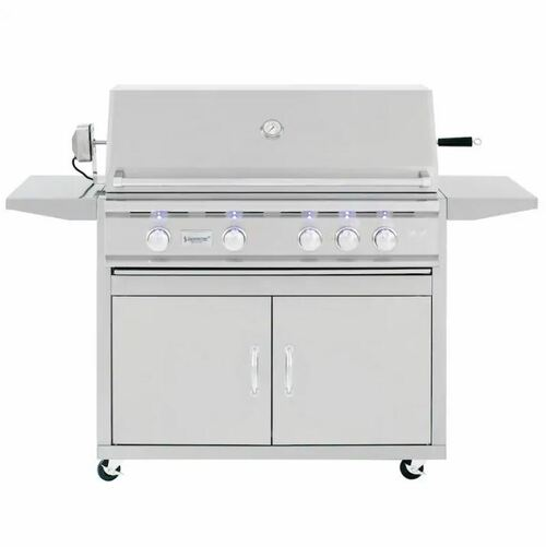 Summerset TRL 38-Inch 4-Burner Natural Gas Grill With Rotisserie - TRL38-NG