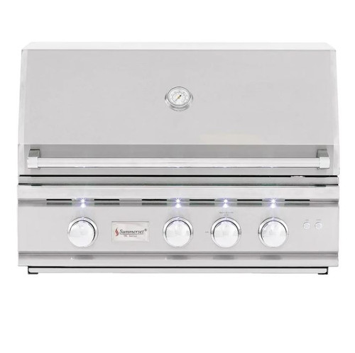 Summerset TRL 32-Inch 3-Burner Built-In Natural Gas Grill With Rotisserie - TRL32-NG