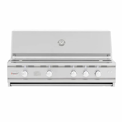 Summerset TRL Deluxe 44-Inch 4-Burner Built-In Natural Gas Grill With Rotisserie - TRLD44A-NG