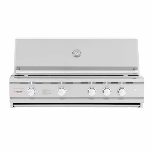 Summerset TRL Deluxe 44-Inch 4-Burner Built-In Propane Gas Grill With Rotisserie - TRLD44A-LP