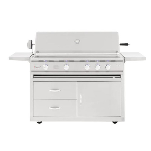 Summerset TRL Deluxe 44-Inch 4-Burner Natural Gas Grill With Rotisserie - TRLD44A-NG
