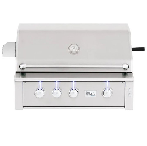 Summerset Alturi 36-Inch 3-Burner Built-In Natural Gas Grill With Stainless Steel Burners & Rotisserie - ALT36T-NG