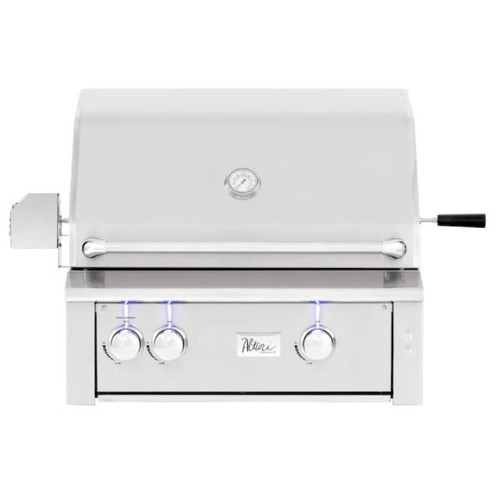 Summerset Alturi 30-Inch 2-Burner Built-In Natural Gas Grill With Stainless Steel Burners & Rotisserie - ALT30T-NG