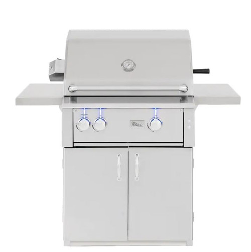 Summerset Alturi 30-Inch 2-Burner Natural Gas Grill With Stainless Steel Burners & Rotisserie - ALT30T-NG