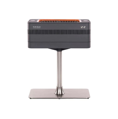 Everdure By Heston Blumenthal FUSION 29-Inch Charcoal Grill With Rotisserie & Electronic Ignition - HBCE1BSUS