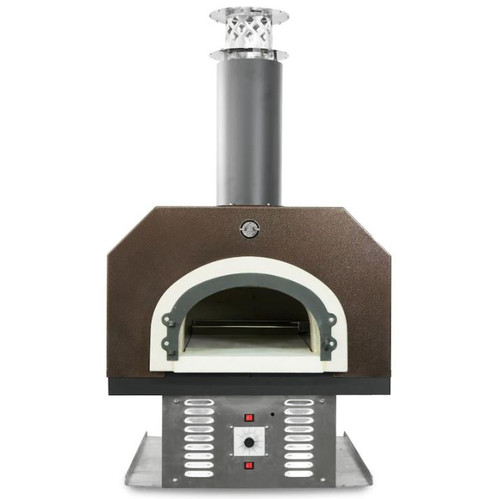 Chicago Brick Oven CBO-750 Built-In Countertop Hybrid Residential Outdoor Pizza Oven - Propane - Copper - CBO-O-CT-750-HYB-LP-CV-R-3K