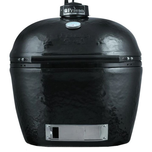 Primo Oval XL 400 Ceramic Kamado Grill With Stainless Steel Grates - 778